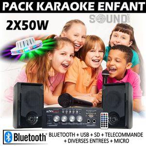 MP3 ENFANT KARAOKE ENFANT la superbe idée cadeau PACK AMPLI E