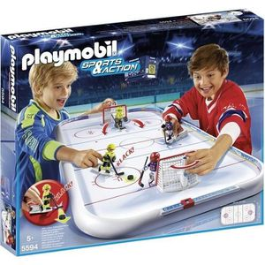 UNIVERS MINIATURE PLAYMOBIL 5594 - Sports & Action - Stade de Hockey