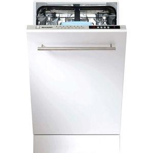 LAVE-VAISSELLE Lave-vaisselle tout intégrable 45 cm SHARP - QWS 3