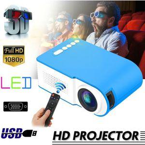 Vidéoprojecteur TEMPSA MIni 3D Videoprojecteur 7000 Lumens LED 108
