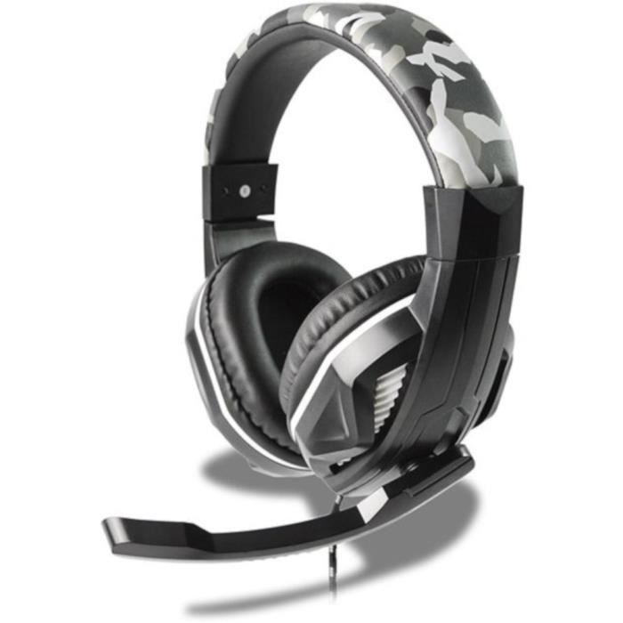 Casque Gamer HP42 Camouflage pour PS4