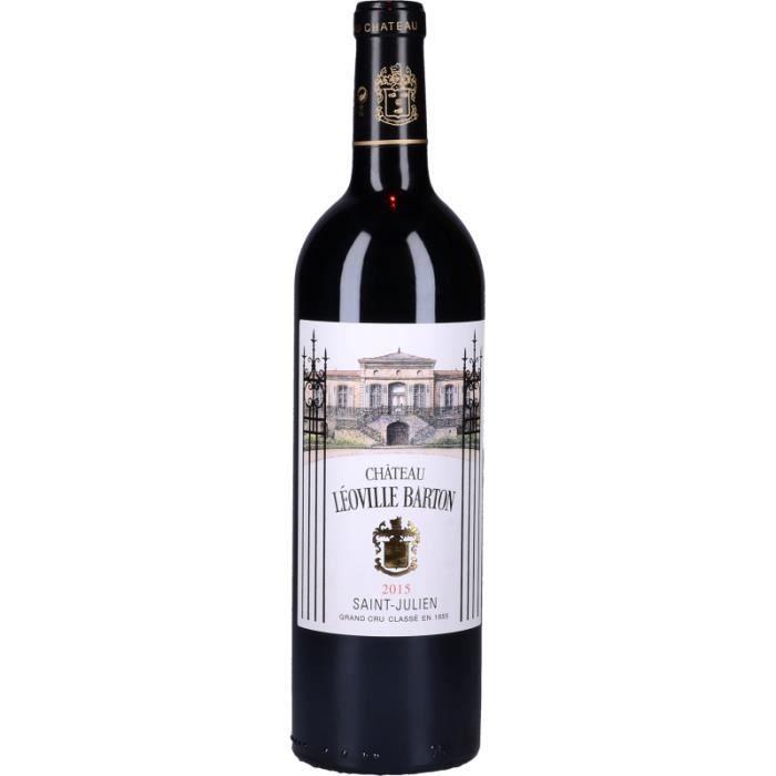 Vin Rouge - Château Léoville Barton 2015 - Bouteille 75cl