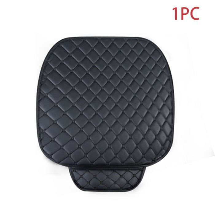 Housses universelles de siège d'automobile, couvre siège, couvre siège, couvre chaise, accessoire, Black Front 1pc