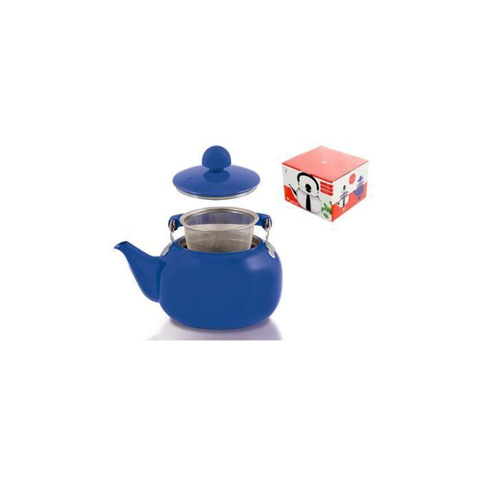 HOME Bouilloire Bleu Avec Casseroles Lt1 Filtre Et Préparation
