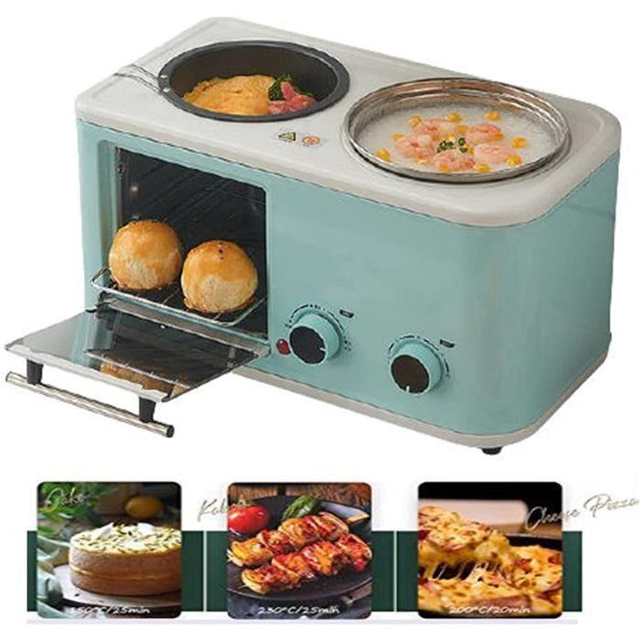 MACHINE A PAIN Petite Machine À Petit-D&eacutejeuner Quatre En Un, Grille-Pain Multifonctionnel Domestique, Grille-Pain 280
