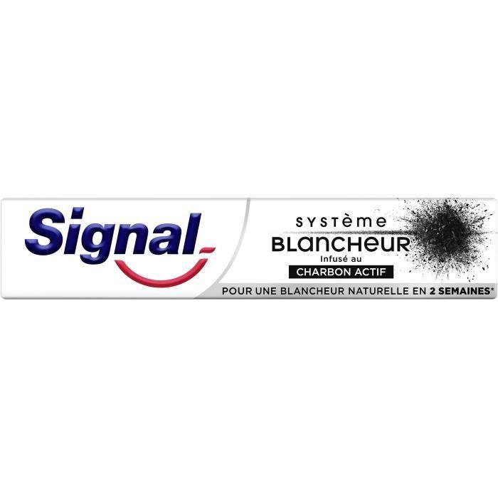 Signal Dentifrice Infusé au Charbon Actif Tube 75ml