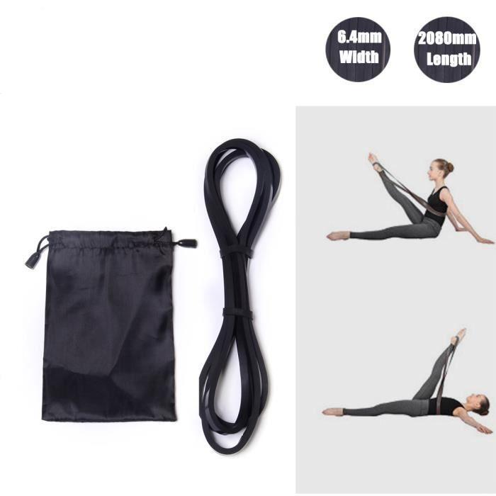 Resistance Band,DoGeek Bandes de Résistance élastique Fitness Ballet bande elastique pour Musculation Pilates Yoga Squat Sport Ré