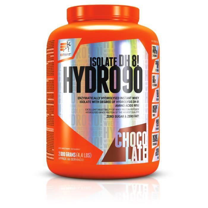 Hydro Isolate 90 2000g CHOCOLAT Extrifit Whey Protéine