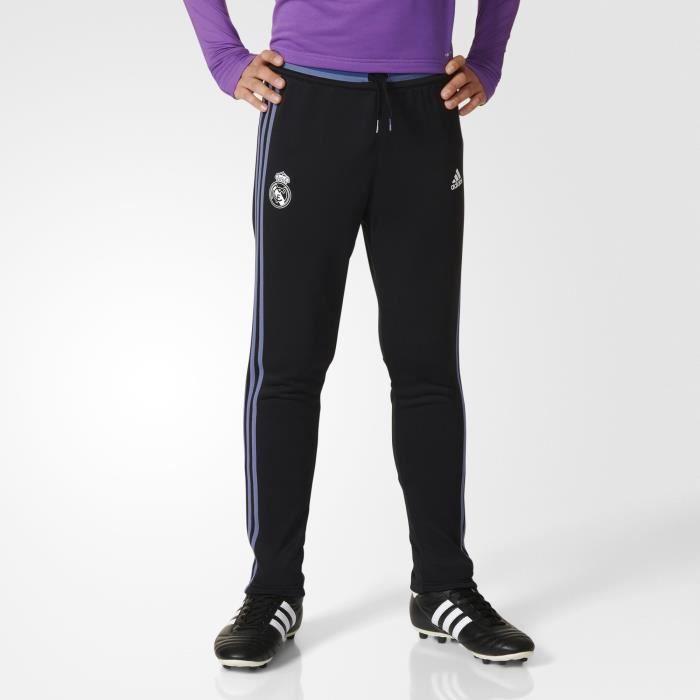 Adidas Pantalon de Survêtement TRG REAL noir, juniors.