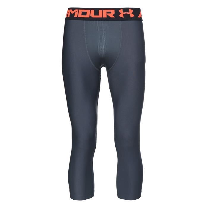 UNDER ARMOUR Legging 3/4 - Homme - Noir