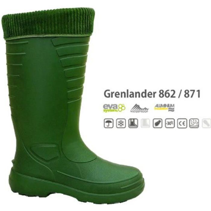 BOTTES LEMIGO GRENLANDER - Homme - Légèreté, confort et chaleur Protection jusqu'à -30°