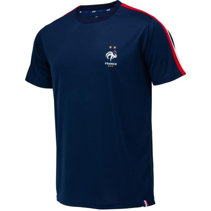 Maillot FFF - Collection officielle EQUIPE DE FRANCE - Homme - Marine