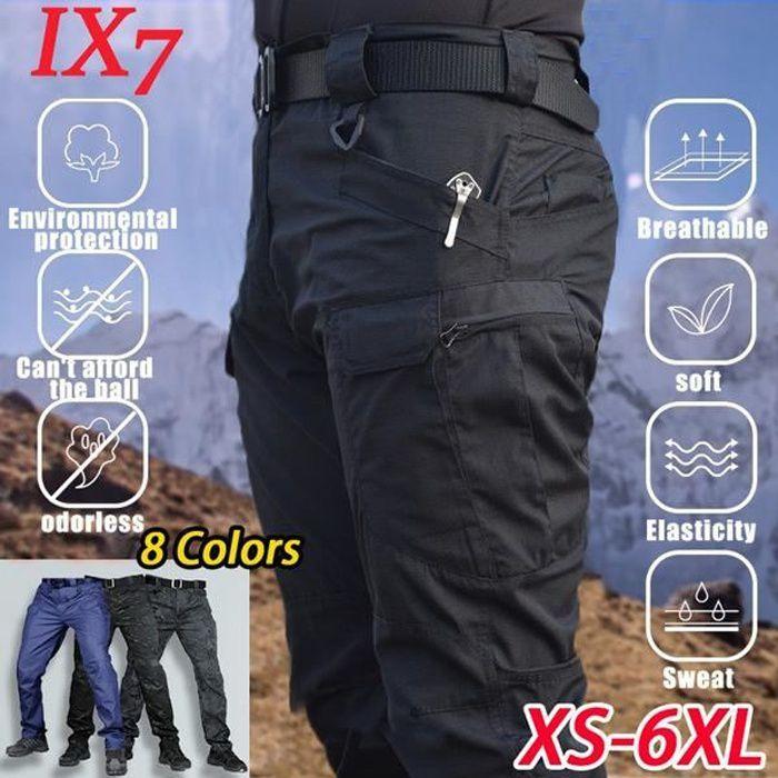 Pantalons pour hommes à l'extérieur de la randonnée Sports Pantalons cargo multi-poches Pantalons de travail Pantalons de sport