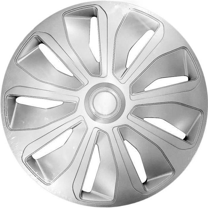 Enjoliveur PLATIN Silver ABS 14'' Polaire RA14-1PLB