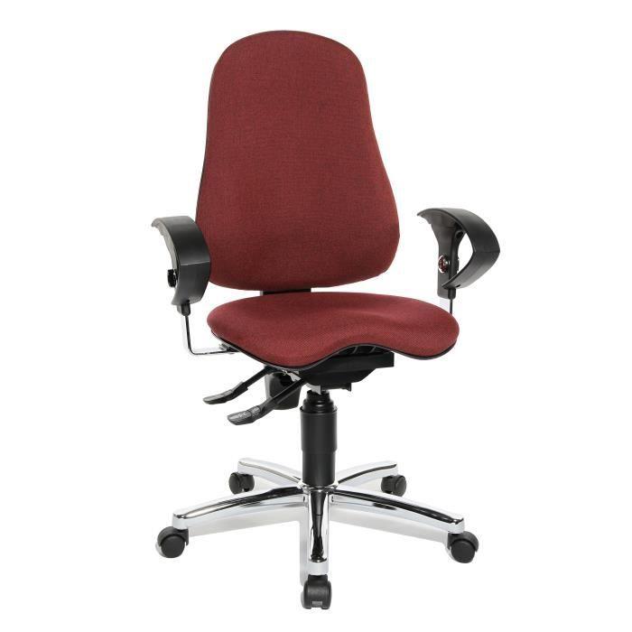 Topstar SI59UG27 Chaise de Bureau Rouge