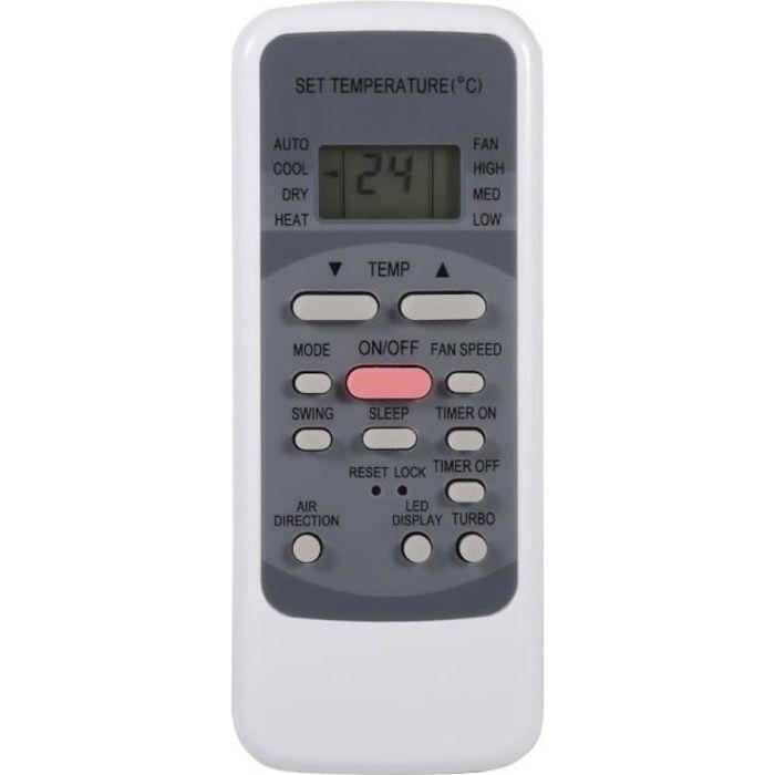 New Fashion Télécommande universelle Climatisation pour Midea R51M - E