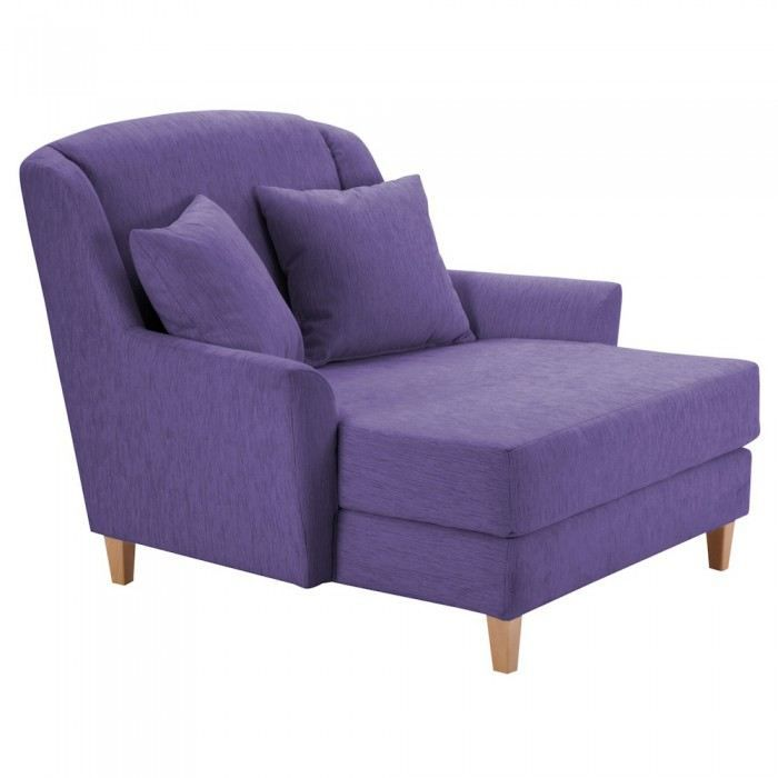 fauteuil design julia couleur violet mati re po achat vente fauteuil violet cdiscount. Black Bedroom Furniture Sets. Home Design Ideas