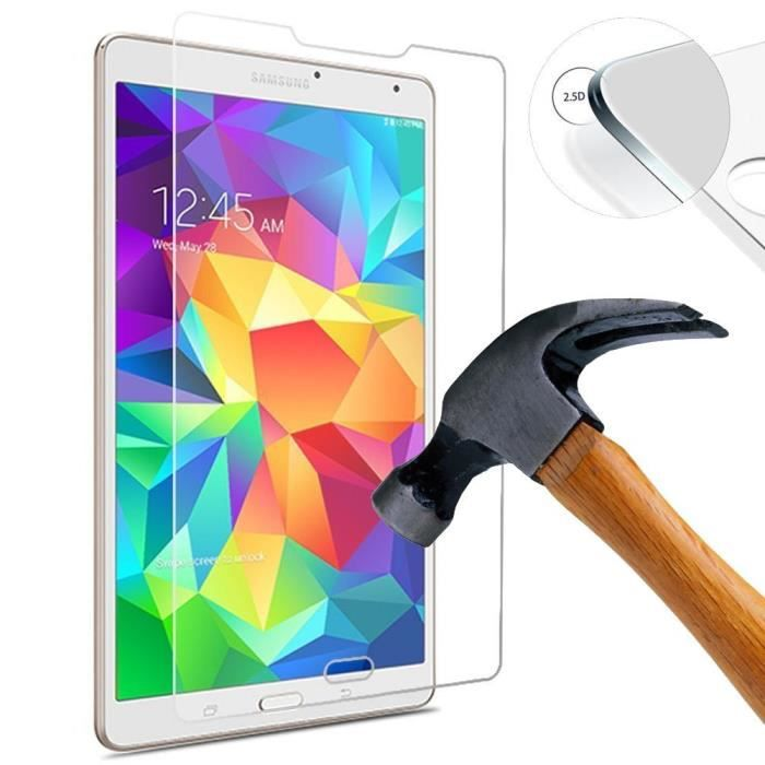 film vitre de protection d 39 cran verre tremp samsung galaxy tab s2 9 7 prix pas cher cdiscount. Black Bedroom Furniture Sets. Home Design Ideas