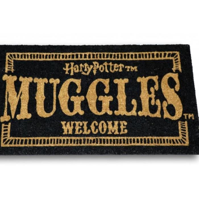 Harry Potter Paillasson 43x72 Muggles Welcome Achat Vente