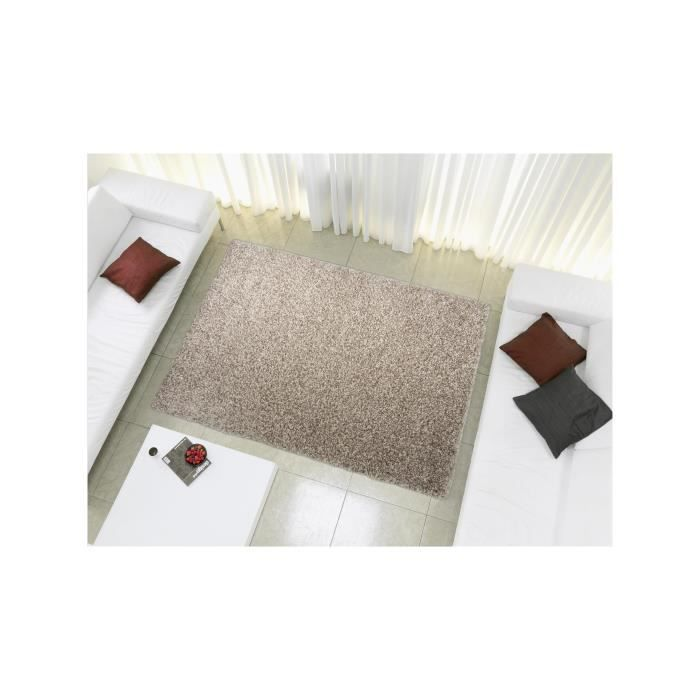 benuta tapis poils longs coco gris clair 240x340 cm achat vente tapis cdiscount. Black Bedroom Furniture Sets. Home Design Ideas