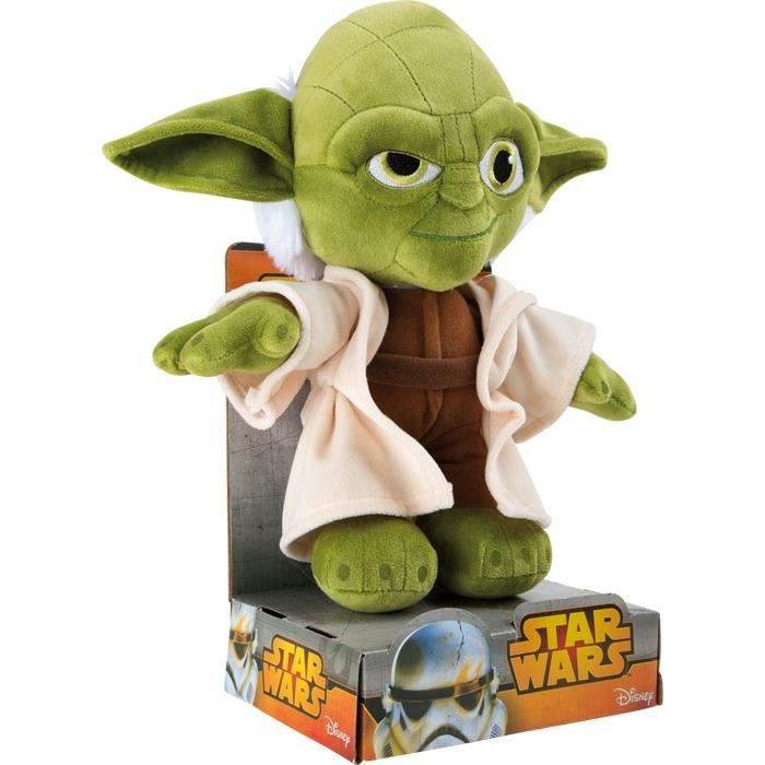 peluche star wars yoda 27 cm achat vente peluche. Black Bedroom Furniture Sets. Home Design Ideas