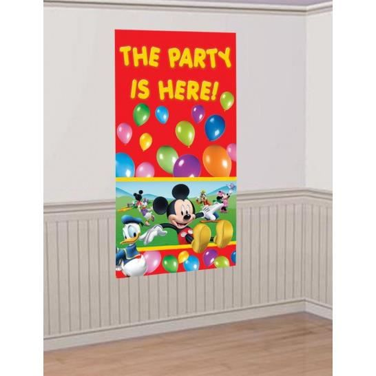 D coration murale mickey achat vente d co de f te for Decoration maison mickey