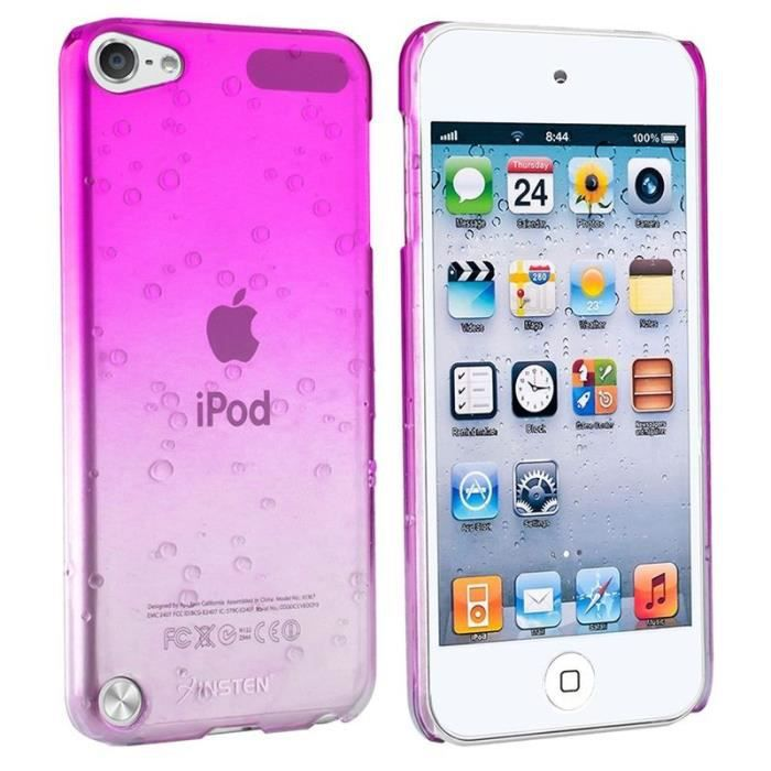 Insten housse tui coque pour apple ipod touch 5 6 rose for Housse ipod touch