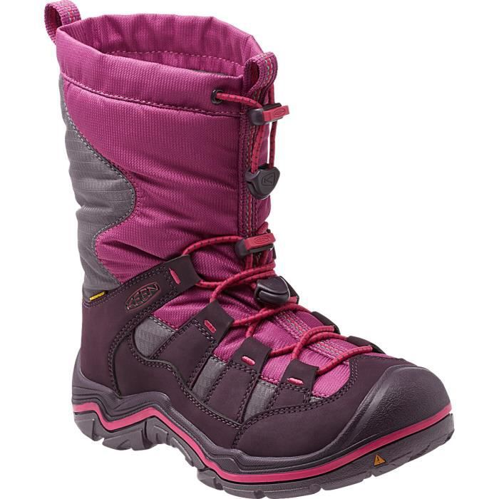Keen Bottes Winterport II WP Enfant Purple Wine/Very Berry