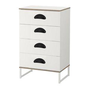 1 poignée de tiroir commode meuble en métal ancienne long 13,5 cm