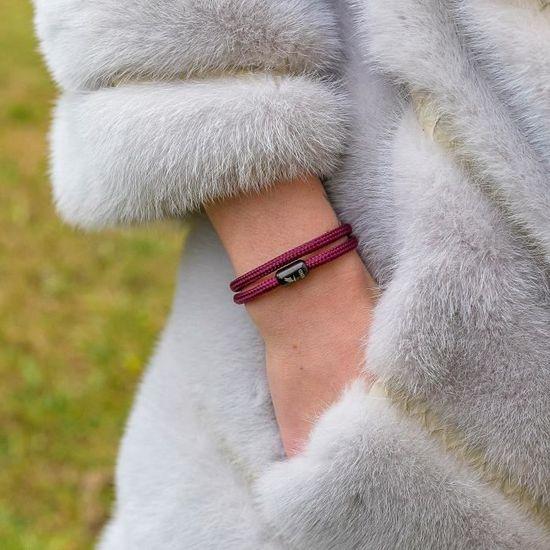 Wind Passion Bracelet Aimant/é Magn/étique Tress/é Corde pour Homme et Femme