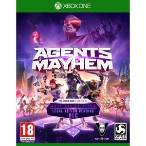 JEU XBOX ONE Agents Of Mayhem Day One Edition Jeu Xbox One