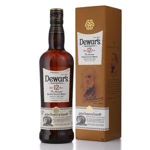 WHISKY BOURBON SCOTCH Dewar's 12 ans Whisky Single Malt 70 cl - 40° - Ne