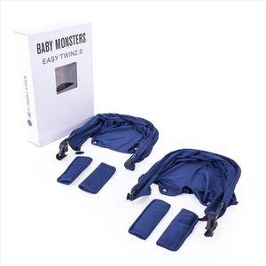 CAPOTE POUSSETTE Pack Capotas Harnais + Protecteur facile double 3.