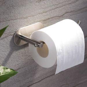 Wall Mounted Double Papier Hygiénique Porte-rouleau de salle de bain Organisateur avec tablette NEUF