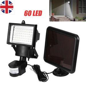 LAMPADAIRE 60 LED Lampe Lumiere de Sécurité Projecteur Détect
