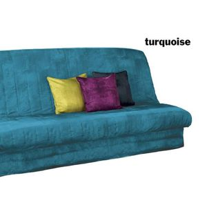 housse de canape bleu turquoise. Black Bedroom Furniture Sets. Home Design Ideas