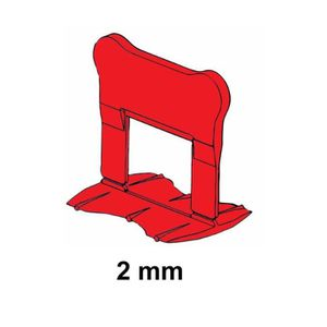 CARRELAGE - PAREMENT 300 CLIPS 2 MM PERFECTLEVEL PRO