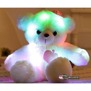 PELUCHE ours teddy peluche lumineux FILLE