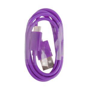 CÂBLE TÉLÉPHONE Cable micro usb violet   pour Nokia Lumia 630