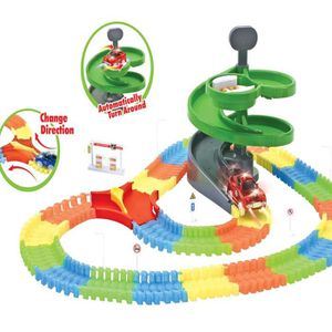 VOITURE ELECTRIQUE ENFANT Dotopon® Rails Lumineux Rail Magic Flexible Tracks