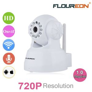 CAMÉRA IP FLOUREON 720P Wifi 1.0 Megapixel Wireless Pan-Tile