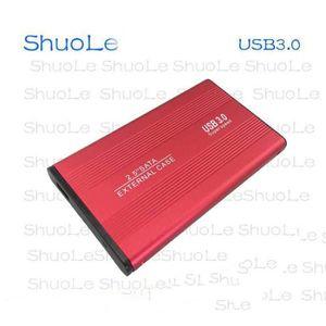 BOITIER POUR COMPOSANT Boitier aluminium USB3.0 pour disque dur SATA 2,5