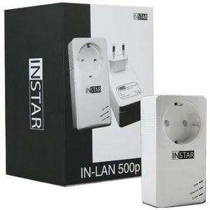 COURANT PORTEUR - CPL INSTAR IN-LAN 500P Adaptateur CPL 500Mbps Blanc