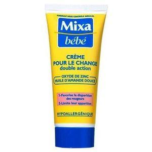 GEL - CRÈME DOUCHE Mixa Bébé Crème Pour Le Change Double Action Oxyde