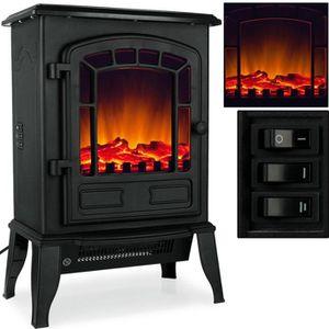 CHEMINÉE Cheminée électrique avec chauffage et effet feu de