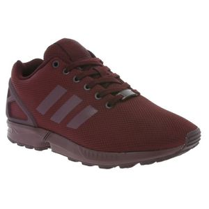 BASKET adidas Originals ZX Flux Hommes Sneaker Rouge BB21