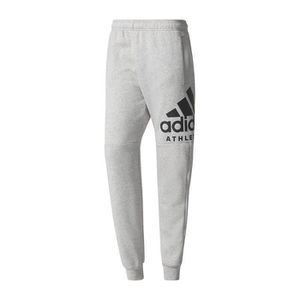 official photos 030c6 2765f Adidas Performance Pantalon Sport Id Logo Gris Pantalon Homme Multisports