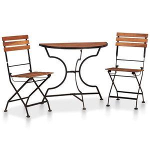 HORIZON Table de repas jardin Ensemble extension iPZuOkXT