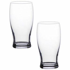 Verre à bière - Cidre Set Duo Lot 2 Verres A Bière Design Luxe Belek 37,