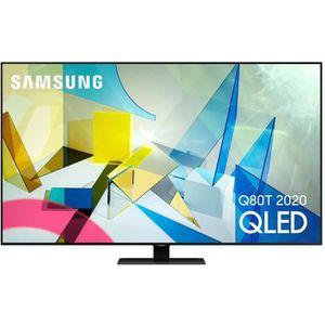 Téléviseur LED Samsung QE75Q80T - Téléviseur QLED 4K de 189 cm